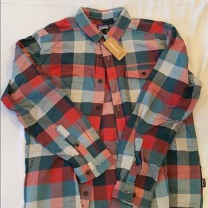 Patagonia Unbroken Flannel Shirt - Medium